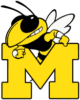 Middlesboro Bee over the letter M